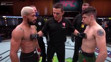 UFC free wrestle: Deiveson Figueiredo, Brandon Moreno collide in an all-out classic war