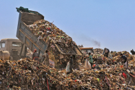 Trillions of pounds of trash: Contemporary technology tries to solve an old garbage problem