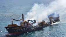 Environmental disaster feared as ship sinks off Sri Lanka