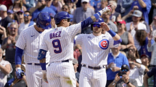 LEADING OFF: Red-hot Cubs visit Giants, Yanks' Cole vs. Rays