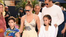 Jennifer Lopez Cuddles With Twins Max & Emme, 13, After Romantic Dinner Date With Ben Affleck – Pics