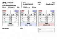 UFC Battle Night 189: Reputable scorecards fromLas Vegas