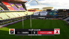 PRO14 Rainbow Cup SA: Lions vs Sharks LIVE scores