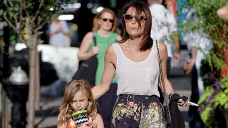 Bethenny Frankel & Daughter Bryn, 11, Are 'Pinkalicious' In Matching Apparel & $20K Birkin Baggage