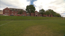 Church bells chime 215 times for children found buried at Kamloops residential school