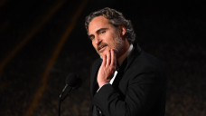 Joaquin Phoenix says he's 'no longer going to force' River, his son with Rooney Mara, to be vegan