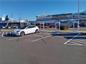 Tesla V3 Supercharging is now available in Australia, 3-bays of 250kW in Devonport, TAS
