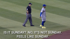 A mic'd-up Francisco Lindor forgot what day it was in an extremely relatable exchange with umps
