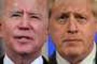 The gulf between Boris Johnson and Joe Biden