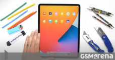 iPad Expert 12.9 (2021) with M1 gets subjected to scratch, burn, and bend testing