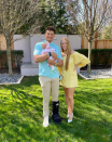 Patrick Mahomes, Brittany Matthews Veil Daughter's Face for 1st Time