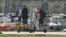 Kelowna council to review e-scooter program after 45 days