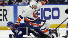 Semyon Varlamov, Islanders beat Lightning 2-1 in Sport 1