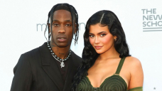 Travis Scott Attends Gala With 'Wifey' Kylie and Stormi: Pics
