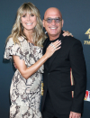 Heidi Klum Teaches Howie Mandel How to Stroll in Heels: 'How Laborious Can it Be?'