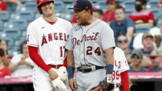Ohtani, backed by Ward's slam, leads Angels past Tigers 7-5