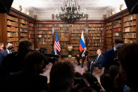 The High Trace of Biden's Assembly with Putin