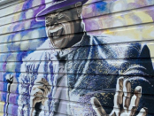 Wall mural of Gord Downie in Sicamous, B.C., also aims to be message of action