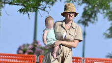 Katy Perry Takes In The Sights Of Italy With Cute Daughter Daisy, 10 Mos. & Orlando Bloom