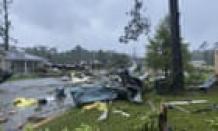 Nine children die in Alabama crash as tropical storm Claudette sweeps south