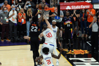 Lonzo, LaMelo Ball react to DeAndre Ayton's game-winning alley-oop vs. Clippers