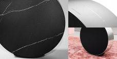 This circle is actually a crazy A$6,500 Bang & Olufsen speaker that can go on your floor or your wall