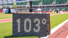 U.S. Olympic track and field trials suspended due to extreme heat