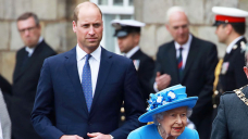 Prince William Bonds With Queen Elizabeth On Her First Outing To Scotland Since Prince Philip's Death