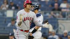 Ohtani's 26th homer starts Angels past reeling Yankees 5-3