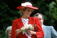 Internal the plans for Princess Diana's statue unveiling and who is attending