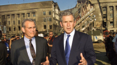 Ragged US defence secretary Donald Rumsfeld dies aged 88