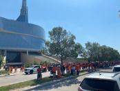 Portage and Major shut down for memorial walks