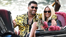 Ciara Rocks Leather-essentially based mostly fully Mini Dress As She & Russell Wilson Kiss On Romantic Gondola Rush In Venice