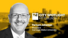 CMU's president discusses how Pittsburgh is building — and retaining — excessive-tech startups