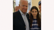 Lady's prayer at collapse site leads to meeting with Biden
