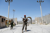 Perfect US, NATO troops vacate major Afghan air base after 20 years