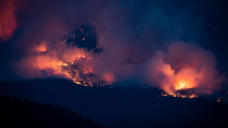 70 new wildfires, 12K lightning strikes in 24-hour period in B.C.; forecast suggests little relief in near future