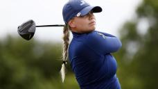 Matilda Castren leads rain-delayed LPGA Tour event in Texas