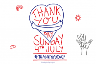 UK Authorities marks national Thank You Day