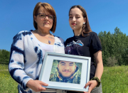 Edmonton mom seeks answers after memorial crosses taken twice from crash site where son died