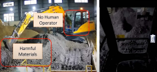 Baidu's Self sustaining Excavators operate 24hrs straight, putting in doubt the future of human operators