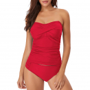 This Tankini Is So Flattering You'll Never Need to Leave the Coastline