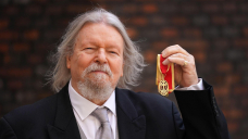 Movie director expresses delight after finally collecting knighthood
