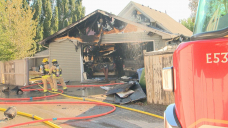 1 person injured after fire breaks out in southeast Calgary