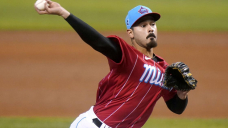 Marlins' López sets MLB mark with 9 strikeouts to open game
