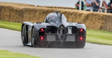We're Getting Severe Batmobile Vibes From This Bonkers Electrical Fan Automobile