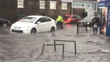 UK climate: London and southern England hit by torrential rain and floods