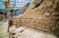 Archaeologists find part of Jerusalem's wall destroyed on Ninth of Av
