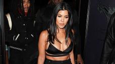 Kourtney Kardashian Rocks Thought-Thru Top & Leather Mini Skirt In Edgy Unusual Portray