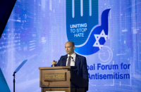 Jewish leaders call for action at global antisemitism forum in Jerusalem